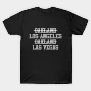 Soon to be Vegas Raiders Shirt