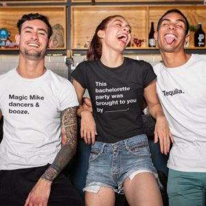 Cards Against Humanity Bachelorette Squad Shirts