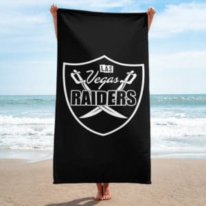 Vegas Raiders Towel
