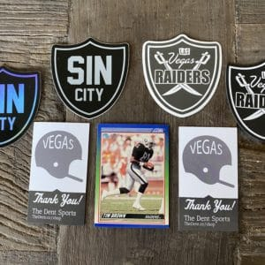 $10: Vegas Sticker & Magnet Pack – 3 Stickers & 1 Magnet