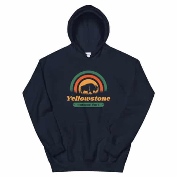 Yellowstone National Park Unisex Hoodie