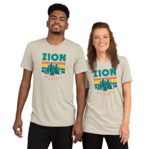 Zion National Park Premium Tri-Blend Short sleeve t-shirt