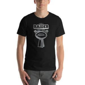 Raider Nation Vegas Premium Short-Sleeve Unisex T-Shirt
