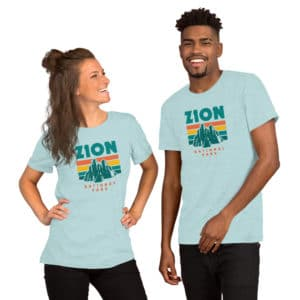 Zion National Park Premium Short-Sleeve Unisex T-Shirt
