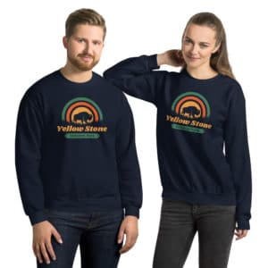Yellowstone National Park Unisex Sweatshirt