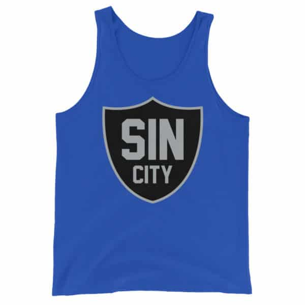 Sin City Raiders Shield Unisex Tank Top