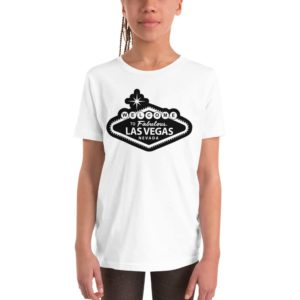 Welcome to Vegas Raiders-Inspired Youth Short Sleeve T-Shirt