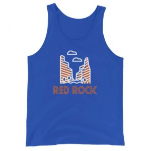 Red Rock Unisex Tank Top