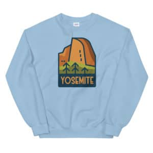 Yosemite National Park Unisex Sweatshirt