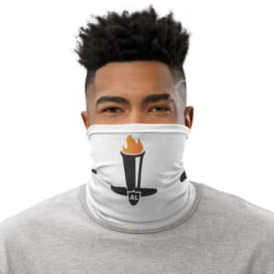Al Davis Eternal Flame Tribute Neck Gaiter
