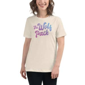 The Wolf Pack Vegas Women's Relaxed T-Shirt