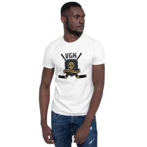 VGK Sin City Retro Basic Short-Sleeve Unisex T-Shirt