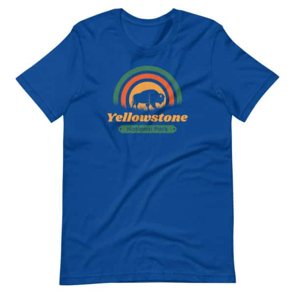 Yellowstone National Park Premium Short-Sleeve Unisex T-Shirt