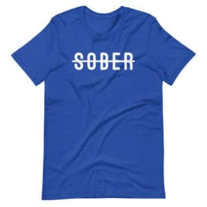 Not Sober Premium Vegas Short-Sleeve Unisex T-Shirt