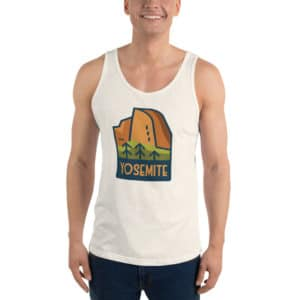 Yosemite National Park Unisex Tank Top