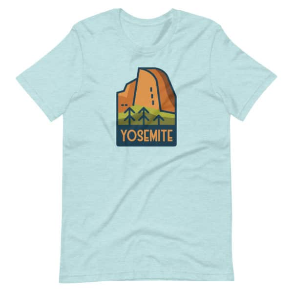 Yosemite National Park Short-Sleeve Premium Unisex T-Shirt