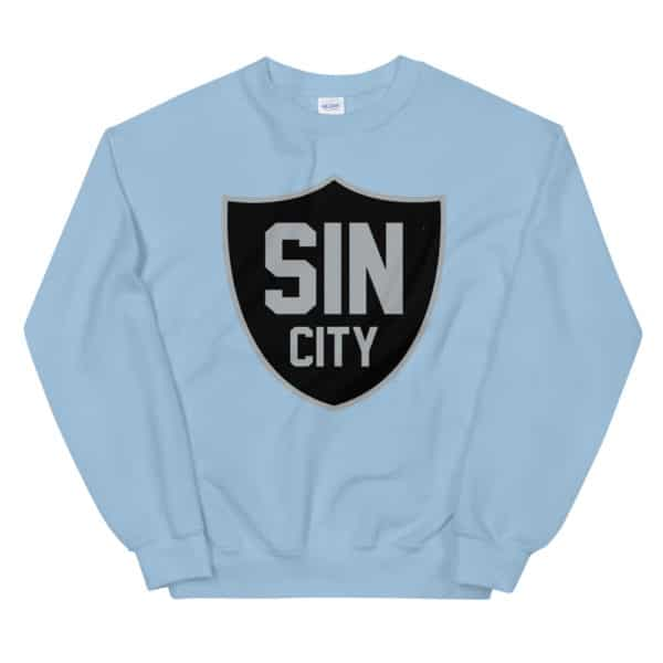Sin City Raiders Shield Unisex Sweatshirt