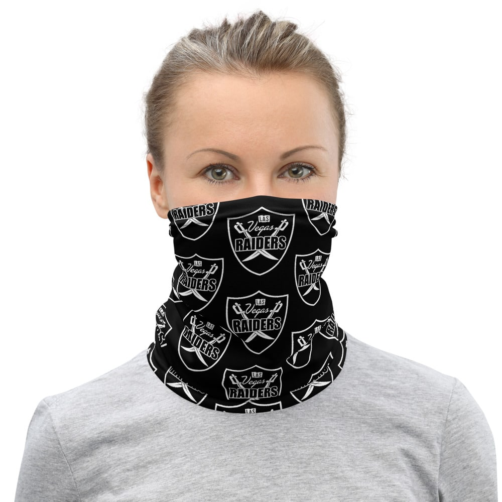 Vegas Raiders Shield Neck Gaiter