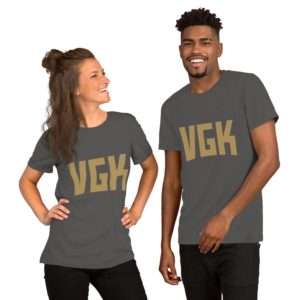 VGK Gold Premium Short-Sleeve Unisex T-Shirt