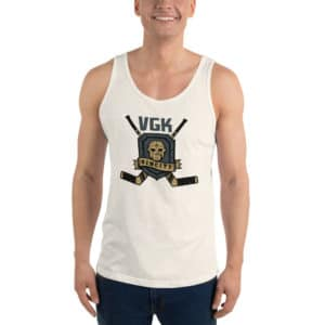 VGK Sin City Retro Unisex Tank Top