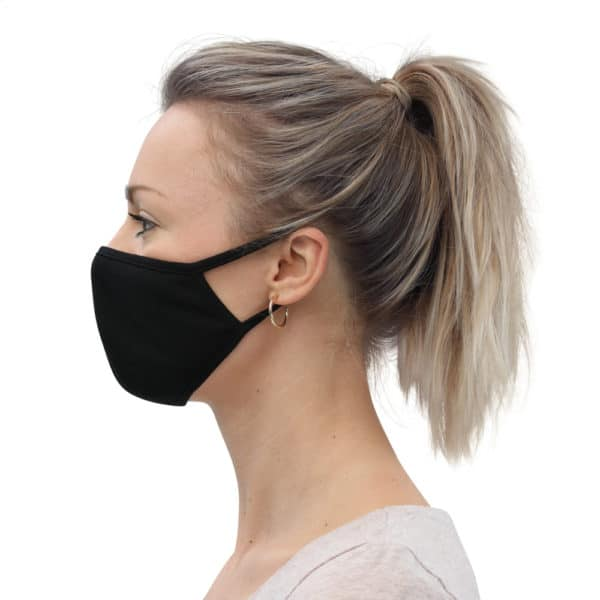Simple Black Face Mask (3-Pack)