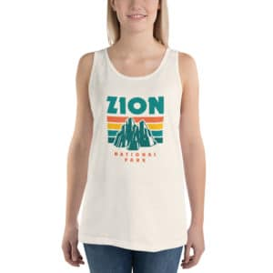 Zion National Park Unisex Tank Top