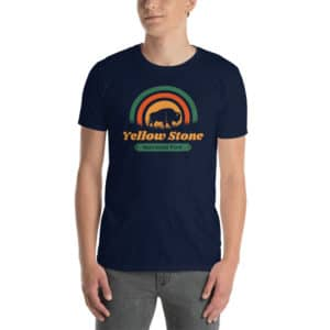 Yellowstone National Park Basic Short-Sleeve Unisex T-Shirt