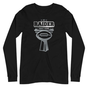 Raider Nation Vegas Unisex Long Sleeve Tee