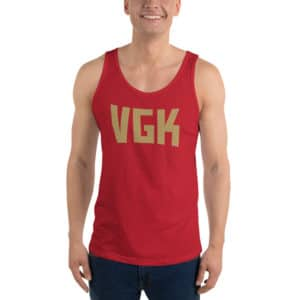 VGK Gold Unisex Tank Top