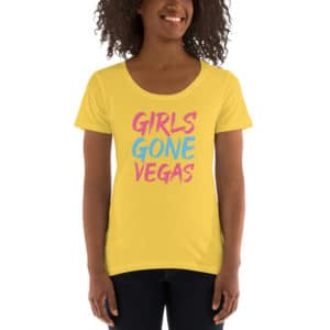 Girls Gone Vegas Ladies' Scoopneck T-Shirt