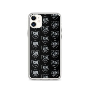 Sin City Pattern iPhone Case