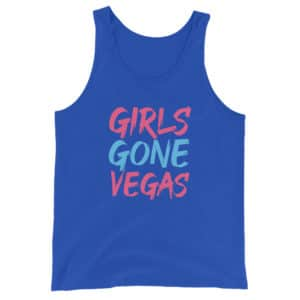Girls Gone Vegas Unisex Tank Top