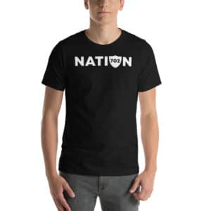 702 Vegas Raider Nation Short-Sleeve Unisex T-Shirt