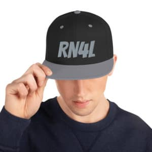 RN4L w/Sin City Logo on Right Snapback Hat